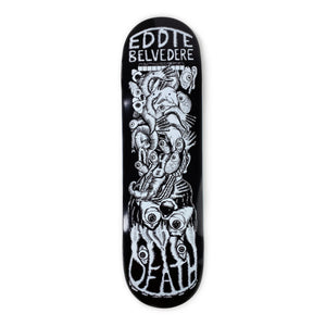 "Load image into Gallery viewer, Death - 8.5"" - Eddie Belvedere 'Phantasmgasm' Deck - Prime Delux Store"