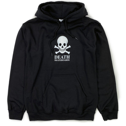 Death Skull Hooded Sweat - Black - Prime Delux Store