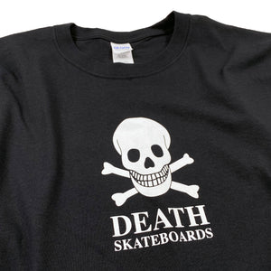 Load image into Gallery viewer, Death OG Long Sleeve T Shirt - Black - Prime Delux Store
