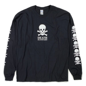 Death OG Long Sleeve T Shirt - Black - Prime Delux Store