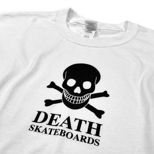 Load image into Gallery viewer, Death OG Skull T Shirt - White - Prime Delux Store