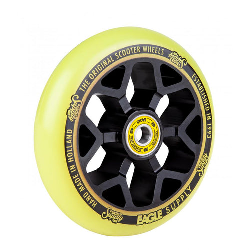 Eagle Supply Wheel Standard 6M Core 110 MM - Black / Yellow - Prime Delux Store