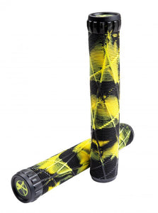 Load image into Gallery viewer, Eagle Grips Eagle x Addict OG Grips - Black / Yellow - Prime Delux Store