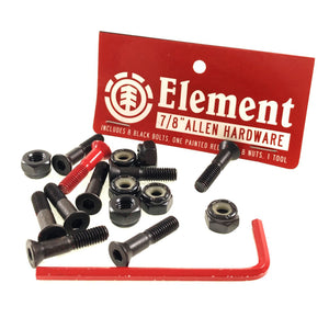 "Load image into Gallery viewer, Element Bolts Allen 7/8"" - Black / Red - Prime Delux Store"