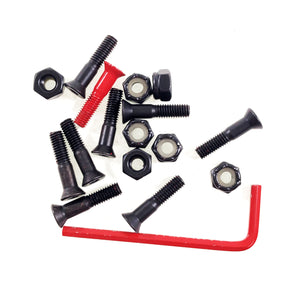 "Element Bolts Allen 7/8"" - Black / Red - Prime Delux Store"