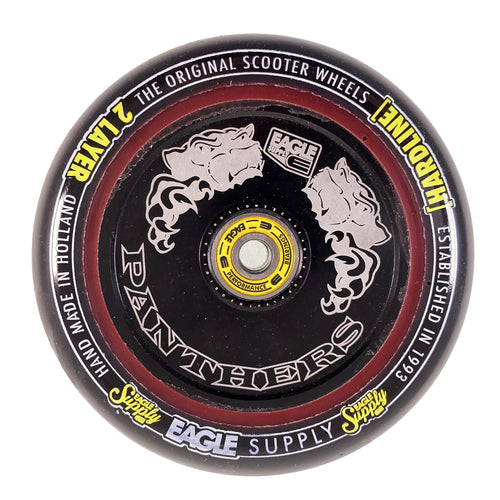 Eagle Supply Wheel Hard Line 2 Layer Hollowtech Core Panthers 115 MM - Black / Black - Prime Delux Store