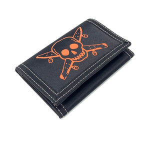 Load image into Gallery viewer, Fourstar Street Pirate Velcro Wallet - Black