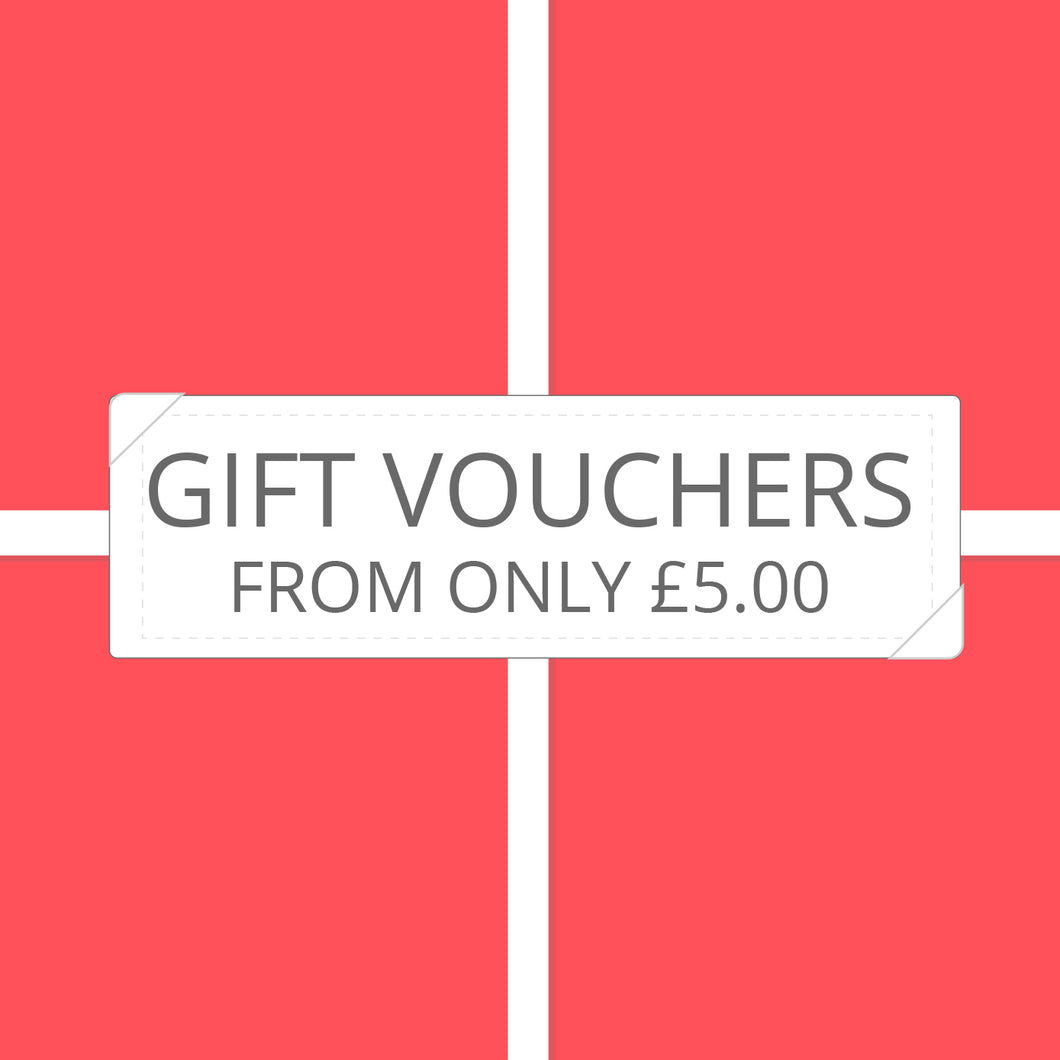 Gift Vouchers from only £5.00 - Prime Delux Store