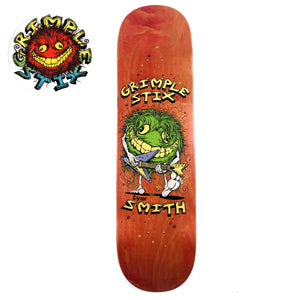 "Anti Hero Grimple - 8.5"" - Evan Family Band Deck 8.5"" - Prime Delux Store"