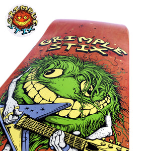 "Load image into Gallery viewer, Anti Hero Grimple - 8.5"" - Evan Family Band Deck 8.5"" - Prime Delux Store"