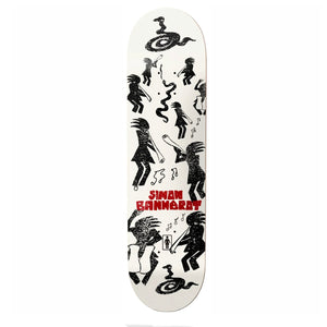 "Load image into Gallery viewer, Girl - 8.25"" - Kokopelli One Off W40 Simon Bannerot Deck - Prime Delux Store"