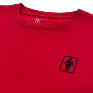 Load image into Gallery viewer, Girl Skateboards Kokopelli T-Shirt - Cardinal - Prime Delux Store