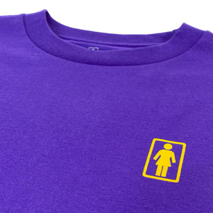 Load image into Gallery viewer, Girl Skateboards Mono OG T-Shirt - Purple - Prime Delux Store