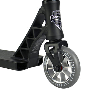 Load image into Gallery viewer, Grit Elite Complete Scooter Satin Black Blue Laser - Prime Delux Store