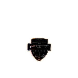 Grit Scooters Shield Sticker - Black - Prime Delux Store