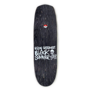 "Load image into Gallery viewer, Heroin Black Summer Good S**t Deck 8.7"" - Prime Delux Store"