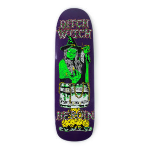 "Heroin - 8.88"" - Ditch Witch 3 Deck - Prime Delux Store"