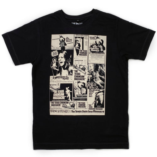 Heroin Texas Chainsaw Massacre Posters T Shirt - Black - Prime Delux Store