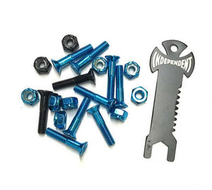 "Indy Phillips 1"" Bolts - Blue / Black - Prime Delux Store"