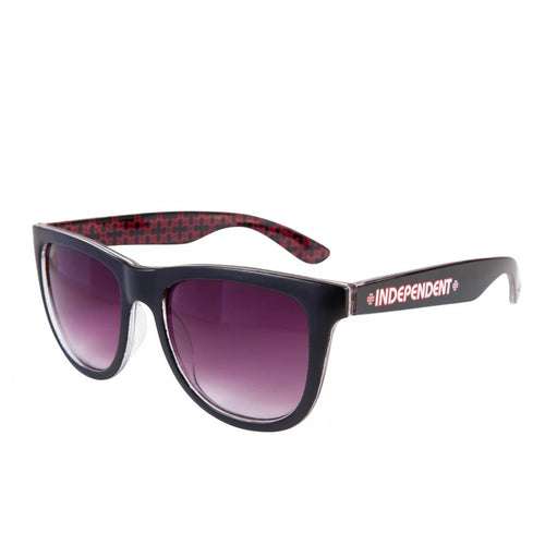 Independent Repeat Cross Sunglasses Black / Red - Prime Delux Store
