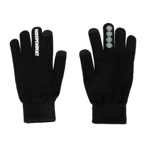 Independent Crosses Gloves Black - Prime Delux Store