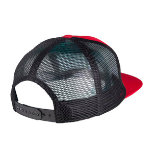 Independent Cap Cross Sequent Meshback - Black / Dark Red - Prime Delux Store