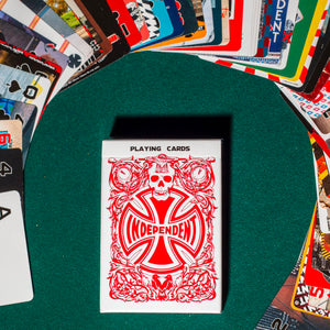 Load image into Gallery viewer, Independent Hold Em Playing Cards - Prime Delux Store