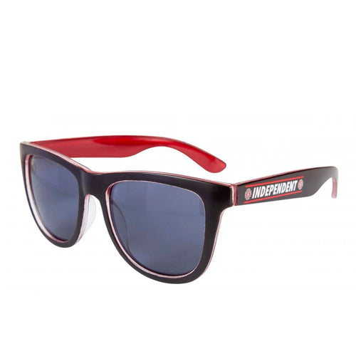Independent Shear Sunglasses - Black / Red - Prime Delux Store