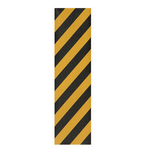 "Jessup Griptape Sheet Black Yellow Stripe 33 x 9"" - Prime Delux Store"