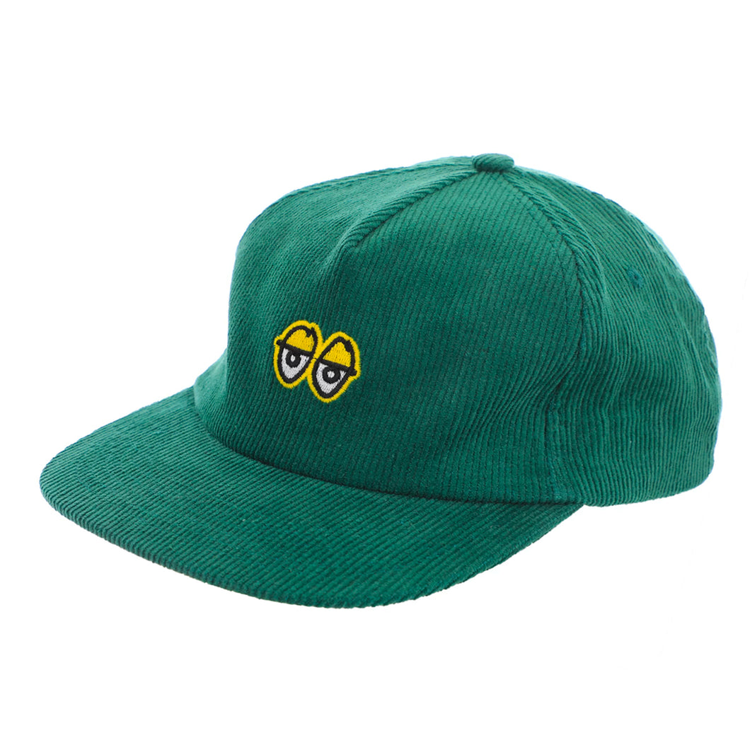 Krooked Eyes Snapback Hat - Green / Yellow - Prime Delux Store