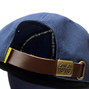 Load image into Gallery viewer, Krooked Strapback Hat - Navy - Prime Delux Store