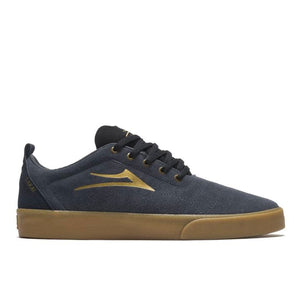 Load image into Gallery viewer, Lakai Bristol Suede - Charcoal / Gold - Prime Delux Store
