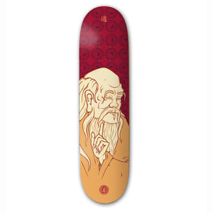 "The Drawing Boards - 7.75"" - Philosophers Series - Lao Tze Deck - Prime Delux Store"
