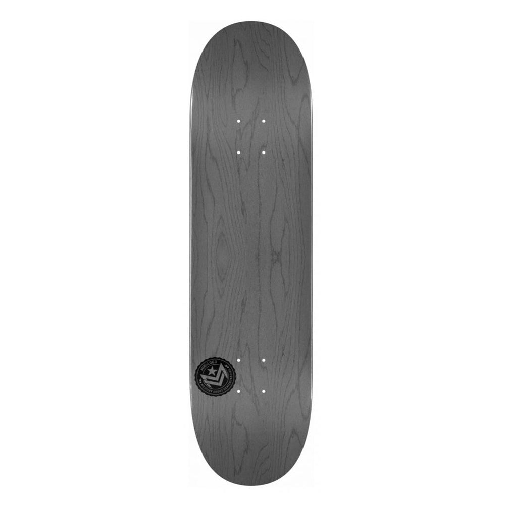 Mini Logo Deck Grey 8.25