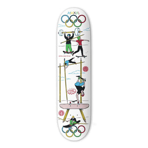 "The Drawing Boards - 8.1"" - No-lympics - Skateboard Deck - Prime Delux Store"