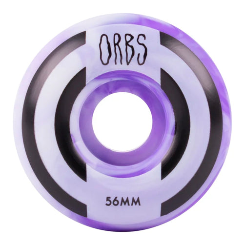 Orbs Apparitions Swirls - 56mm - Purple / White - Prime Delux Store