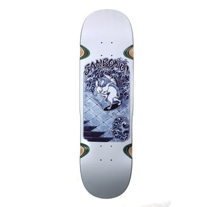 "Load image into Gallery viewer, POLAR 8.75"" Shin Sanbongi Skate Rabbit Wheel Wells Deck - Prime Delux Store"