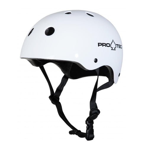 Pro-Tec Helmet Classic Certified - Gloss White - Prime Delux Store