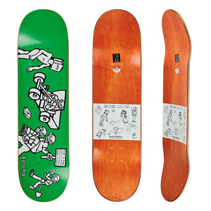"Polar - 8.375"" - Nick Boserio Cash is Queen Deck - Prime Delux Store"