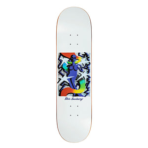 "Load image into Gallery viewer, POLAR Shin Sanbongi Queen  8.25"" Deck - White - Prime Delux Store"
