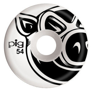Pig 3D Conical Wheels Natural 54mm - Prime Delux Store