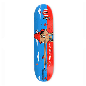 "The Drawing Boards Pinnochio Deck- 8.25"" - Prime Delux Store"