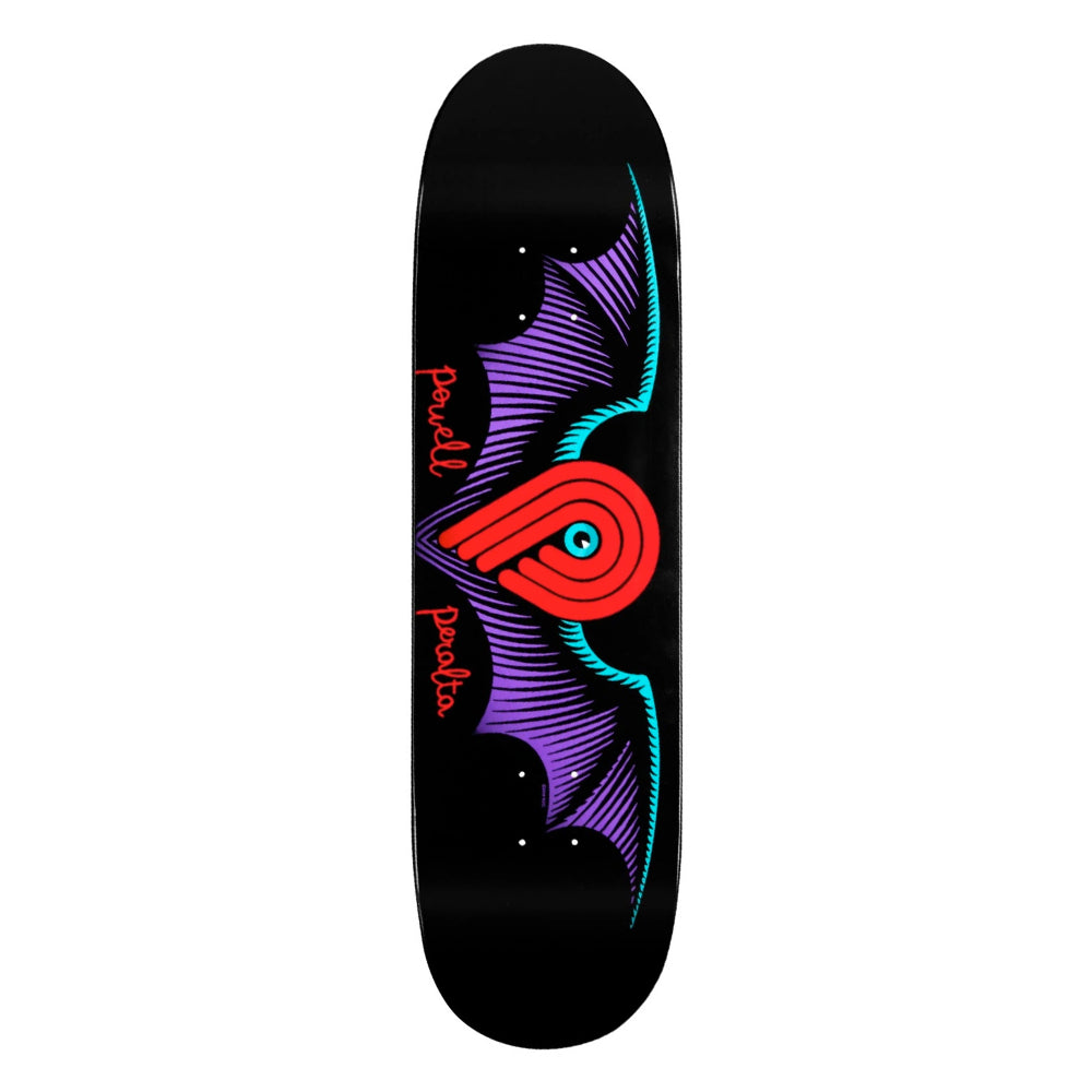 Powell Winged P Deck Black 8.13