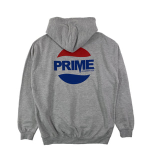 Prime Delux Prepsi Logo Kids Hooded Sweat - White - Prime Delux Store