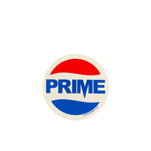 Prime Delux Prepsi Sticker M - Red Blue / White - Prime Delux Store