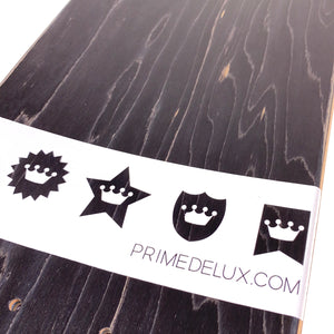 "Load image into Gallery viewer, Prime Delux O.G Invert Deck 7.5"" - White / Purple - Prime Delux Store"