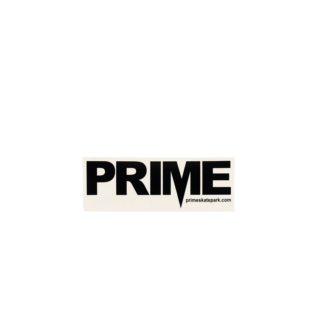 Prime Delux OG SP Sticker M - Black / Clear - Prime Delux Store