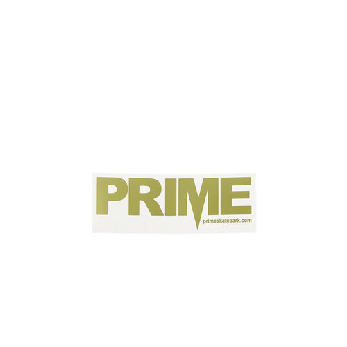 Prime Delux OG SP Sticker M - Clear / Gold - Prime Delux Store