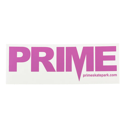 Prime Delux OG SP Sticker XXL - Purple / Clear - Prime Delux Store