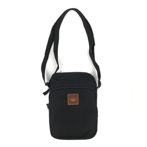 Load image into Gallery viewer, Prime Delux Shoulder Pack - Black / Brown - Prime Delux Store